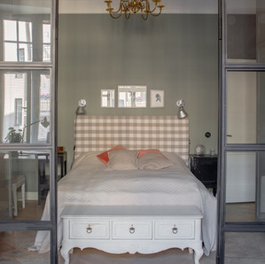 Cygnaeuksenkatu / makuuhuone