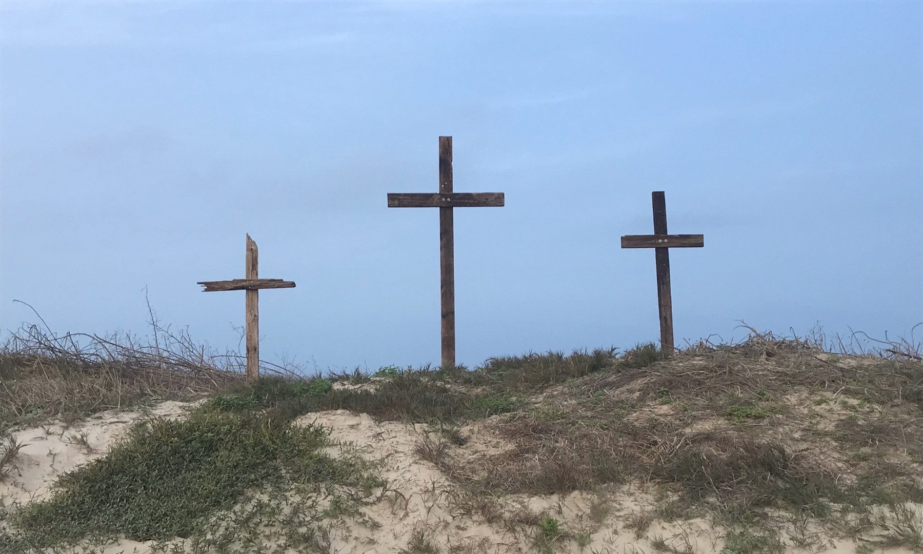 Crosses On The Dunes