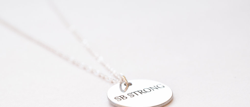 SB Strong Circle Necklace