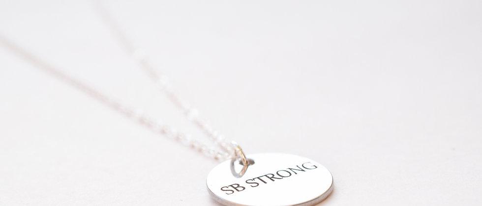 SB Strong Circle Necklace