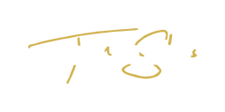 tom sless logo (white on yellow).png