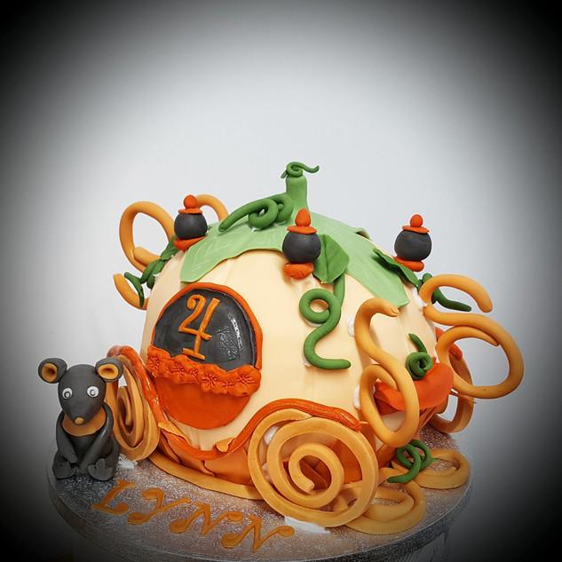 Cinderella Taart