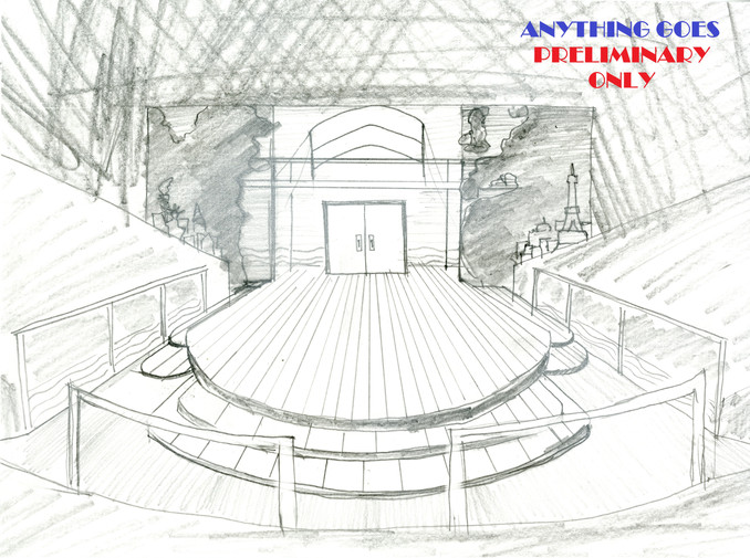 Anything Goes Preliminary Sketch