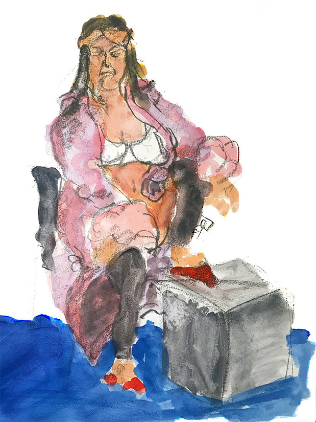 Figure Color sketch
