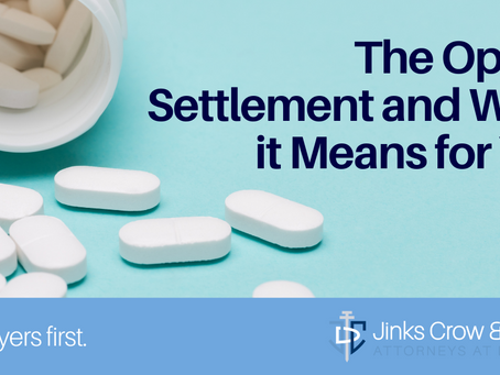 The Opioid Settlement & What it Means For You