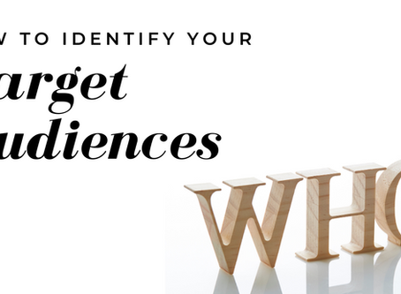 How to Identify Your Target Audiences