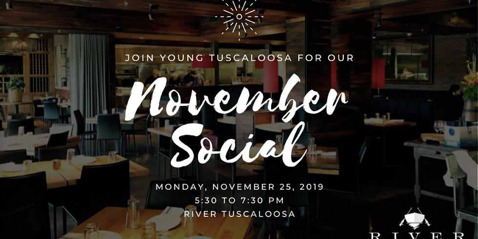 YT November Social: Rollin' on to River