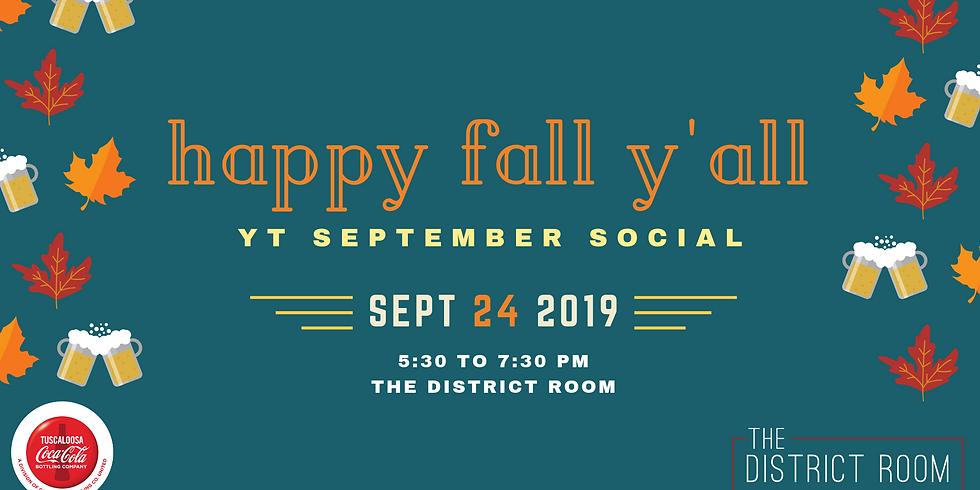 YT September Social - Happy Fall, Ya'll!