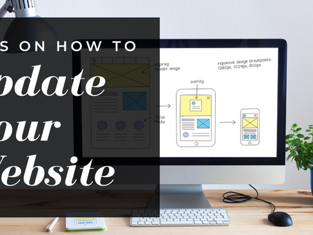 Tips on How to Update Your Website