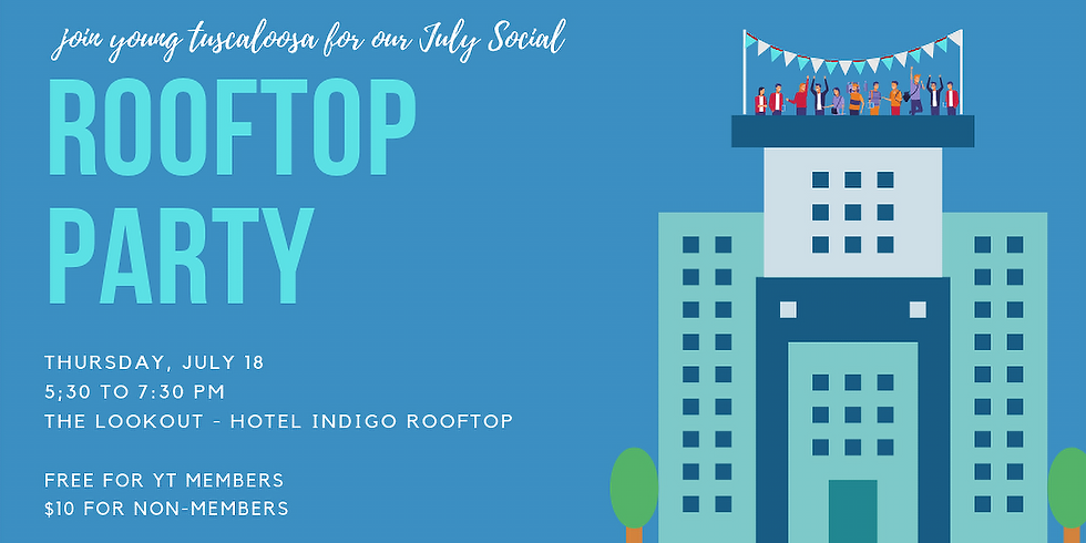 YT July Social Rooftop Party