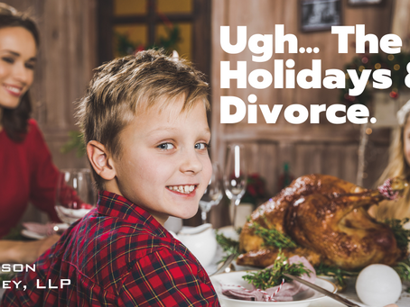 Ugh... The Holidays & Divorce