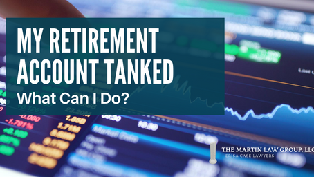 My Retirement Account Tanked - What Can I Do?