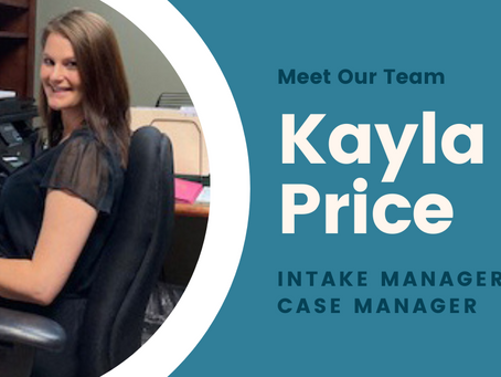 Meet Our Team: Intake Manager & Case Manager Kayla Price
