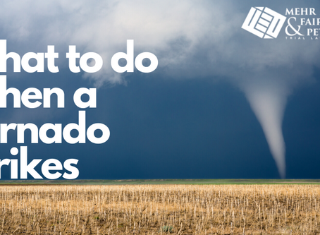 What to Do When a Tornado Strikes