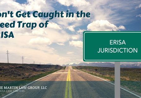 Don't Get Caught in the Speed Trap of ERISA