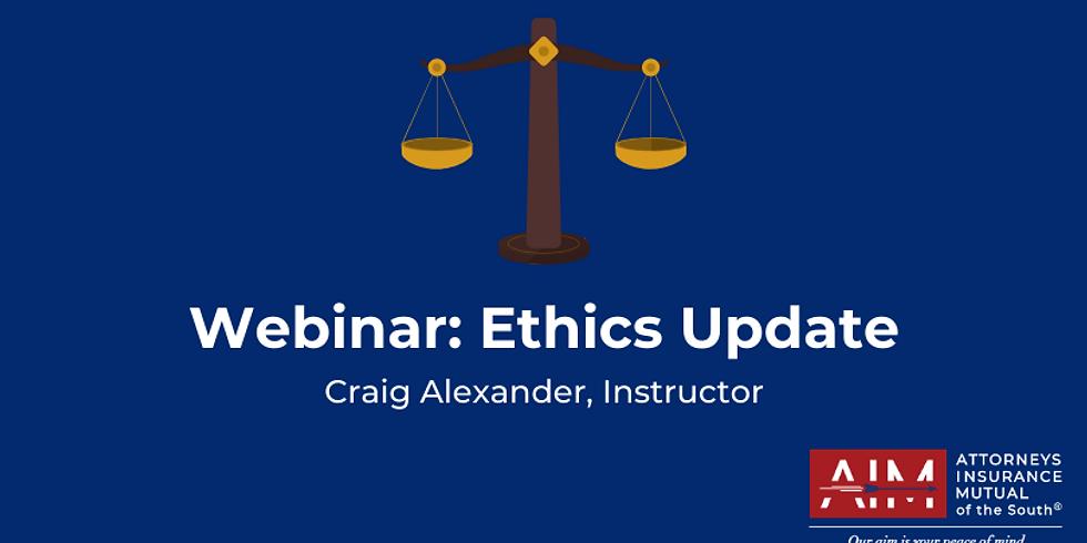 Ethics Update