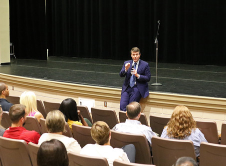 Mayor Walt Maddox Speaks at Summer Learning Symposium