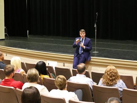 Mayor Walt Maddox Speaks at Summer Learning Symposium
