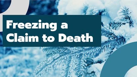 Freezing an ERISA Claim to Death