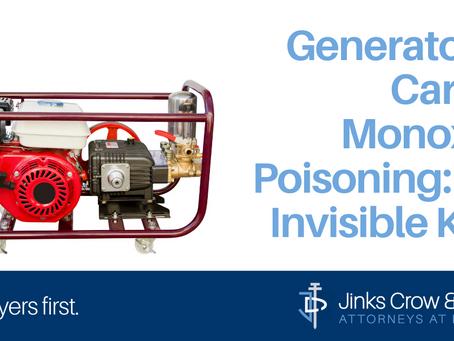 Generators & Carbon Monoxide Poisoning: The Invisible Killer