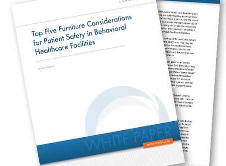 Top Five Furniture Considerations for Patient Safety in Behavioral Healthcare Facilities