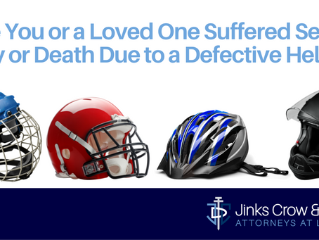 Injuries from Defective Helmets