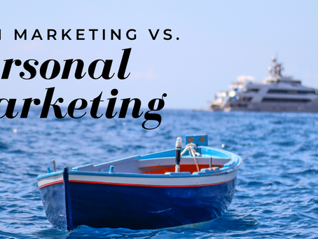 Firm Marketing versus Personal Marketing