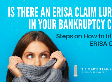 Identifying ERISA Claims in Bankruptcy Cases