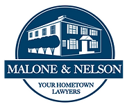 Malone & Nelson - Logo (White on Blue).p