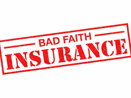 What is Bad Faith Insurance?