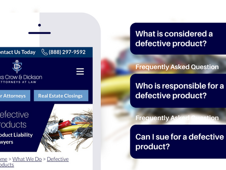 Frequently Asked Questions (FAQs) on Defective Products