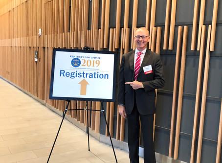 Austin Mehr Presents at KY Law Update in Louisville