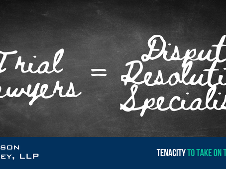 Trial Lawyers & Dispute Resolution Specialists