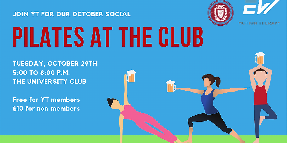 YT October Social: Pilates at the Club