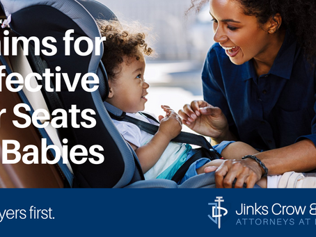 Claims for Defective Car Seats for Babies