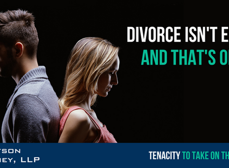 Divorce Isn't Easy. And That's Okay.