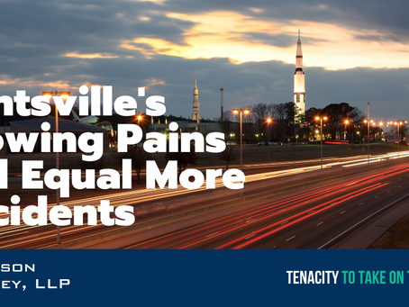 Huntsville's Growing Pains Will Equal More Accidents