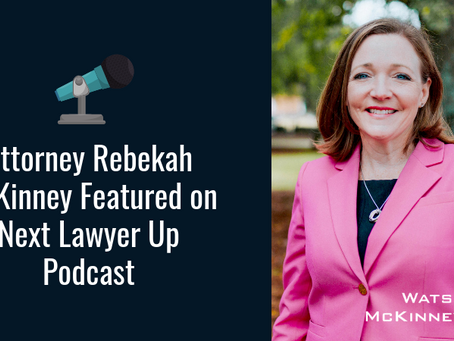 Attorney Rebekah McKinney Featured on Next Lawyer Up Podcast