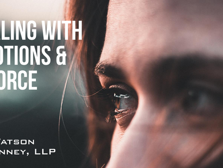 Dealing with Emotions & Divorce