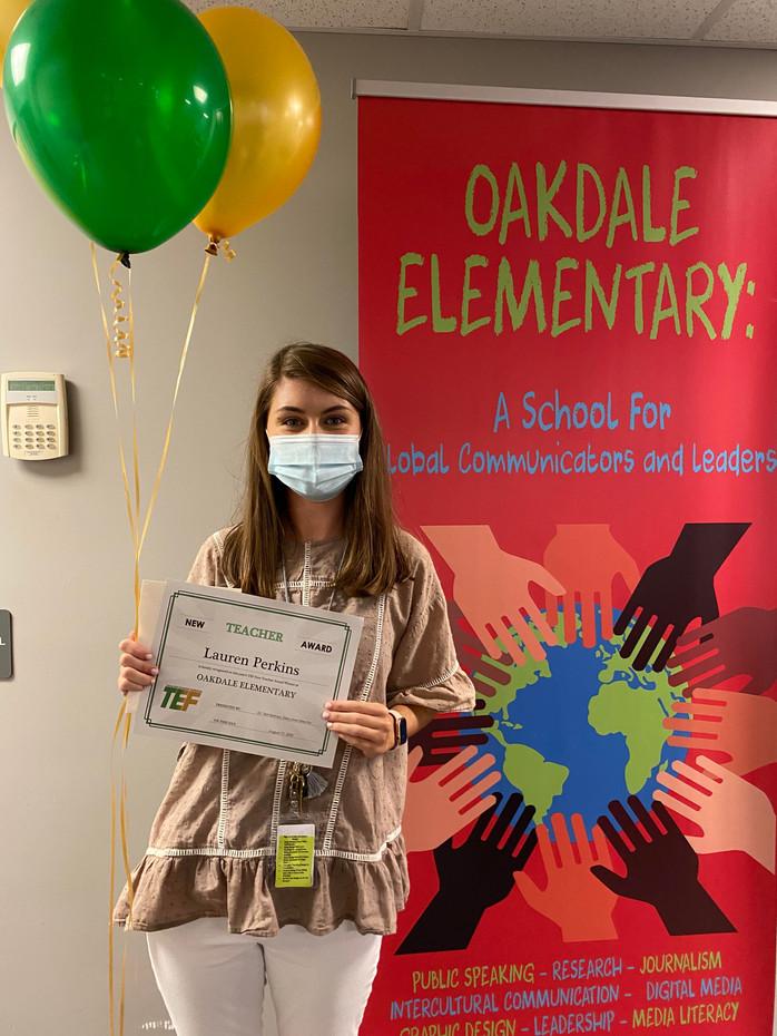 Lauren Perkins, Oakdale Elementary School