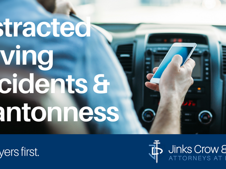 Distracted Driving Accidents & Wantonness