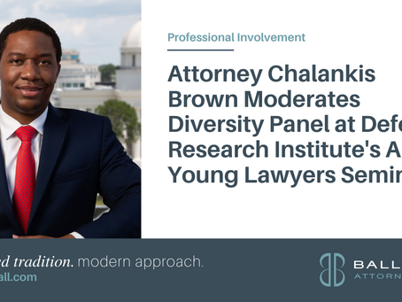 Attorney Chalankis Brown Moderates Diversity Panel at DRI's Annual Young Lawyers Seminar