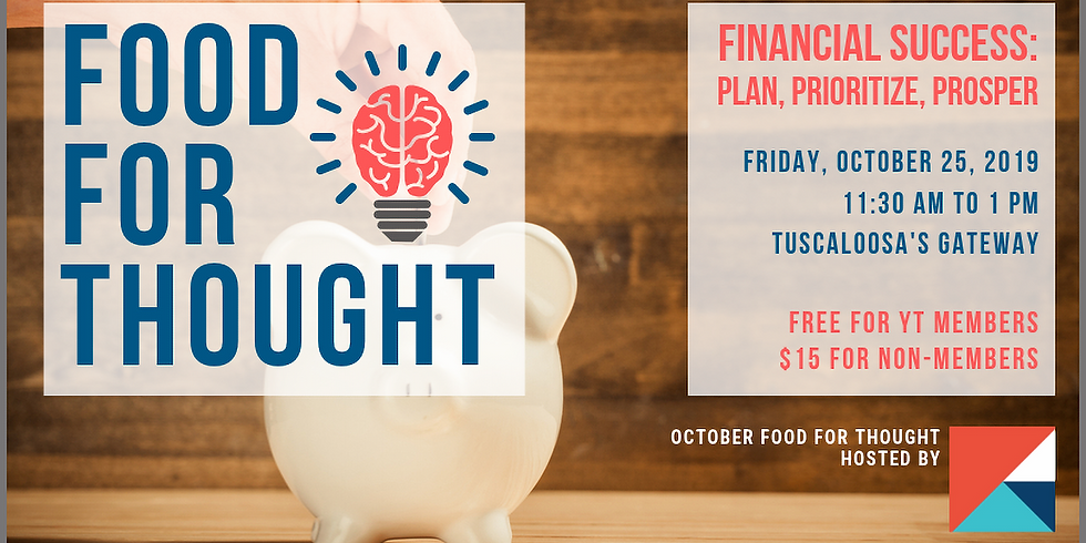 October Food for Thought: Financial Success