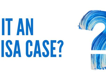 Is it an ERISA case?
