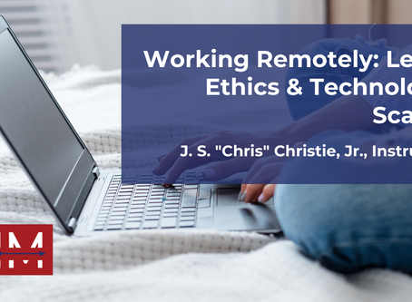 Register for Working Remotely Webinar on May 7