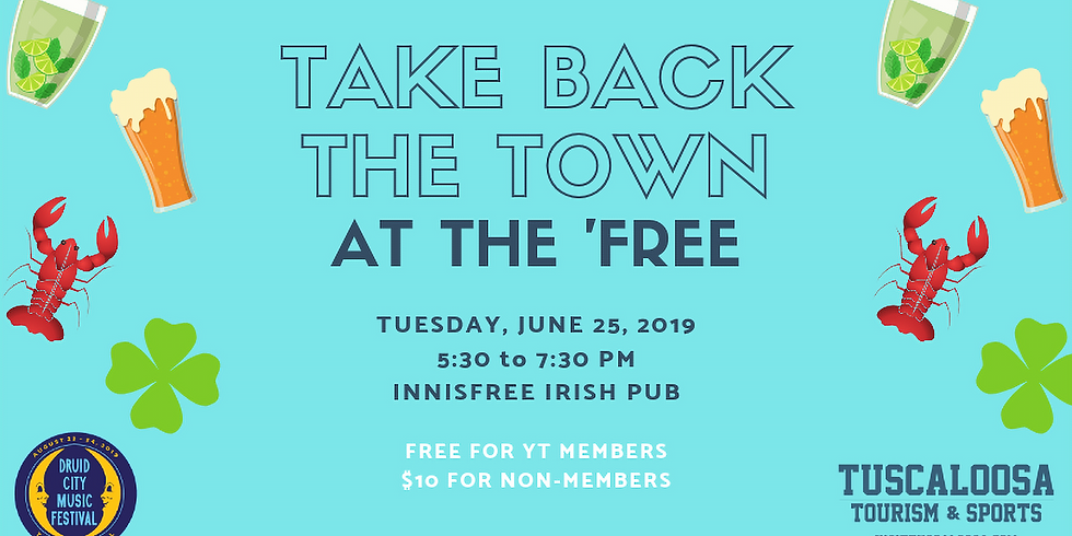 Take Back the Town at the 'Free