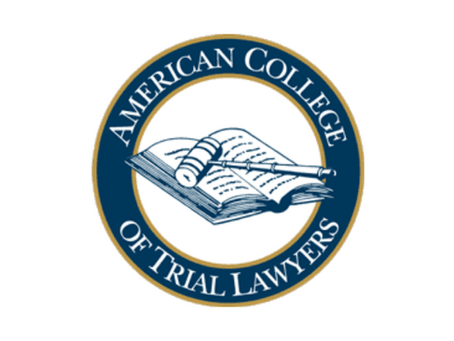 Wilson Inducted as American College of Trial Lawyers Fellow