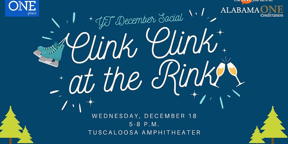 December Social: Clink Clink at the Rink