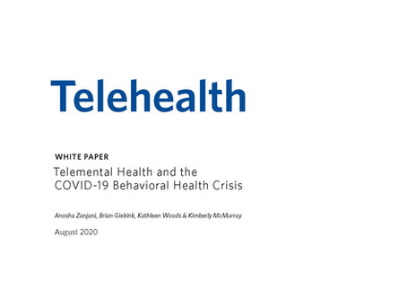 Whitepaper: Telemental Health and the COVID-19 Behavioral Health Crisis