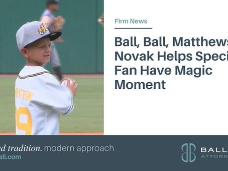Ball, Ball, Matthews & Novak Helps Special Fan Have Magic Moment
